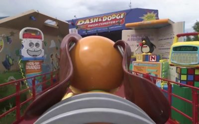 Moment of Disney Bliss: Slinky Dog Dash at Walt Disney World