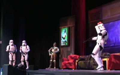 Moment of Disney Bliss: Star Wars Weekends Stormtrooper Skit