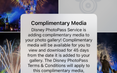 Disney World Adds Complimentary Disney PhotoPass Images to My Disney Experience App