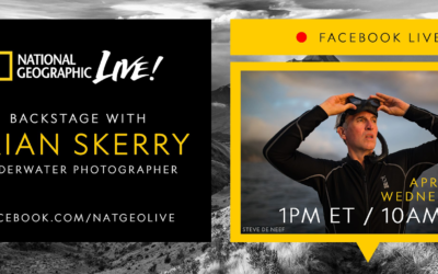 National Geographic Presents a New Stay-At-Home Experience on Facebook Live Featuring Nat Geo Explorers
