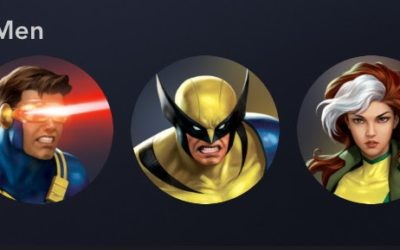 "New ""X-Men"" Avatars Available to Select For Disney+ Profiles"