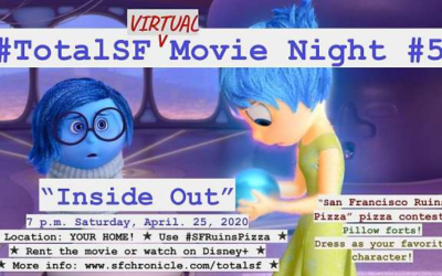 "Pixar's ""Inside Out"" Virtual Viewing Party with Pete Docter and Jonas Rivera Hosted by SF Chronicle"