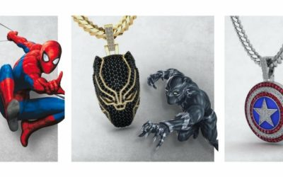 Jeweler GLD Previews GLD X MARVEL Collection Launching in May