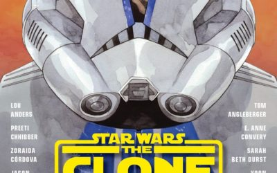 """Star Wars: The Clone Wars - Stories of Light and Dark"" Anthology Book Announced by Lucasfilm Publishing"