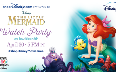 "shopDisney Twitter Watch Party Series Continues with ""The Little Mermaid"""