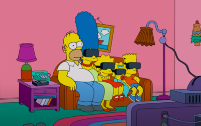 The Simpsons Virtually Escape Quarantine in Extreme New Couch Gag