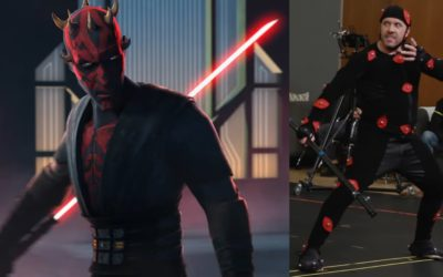 """Video: See How Actor Ray Park Returned to Motion Capture Darth Maul in """"Star Wars: The Clone Wars"""""""