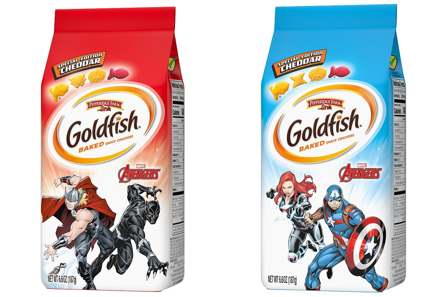 Marvel Avengers Goldfish