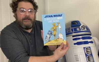 "Bobby Moynihan Reads ""Star Wars: C-3PO Does NOT Like Sand"" on Disney's YouTube Channel"