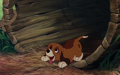 "Top 10 Disney Dogs: #9, Copper from ""The Fox and the Hound"""