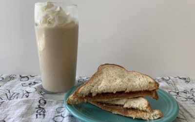 Disney Parks Recipes - Peanut Butter & Jelly Milk Shake