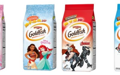 Disney, Pepperidge Farm Partner for Disney Princess, Avengers Themed Goldfish Crackers