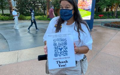 Disney Springs Surveys Guests About New Policies