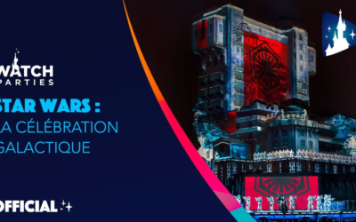 "Disneyland Paris Shares ""Star Wars: A Galactic Celebration"" Nighttime Show for Star Wars Day"