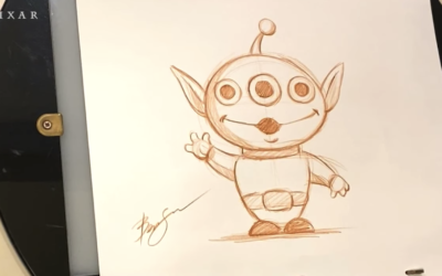 "Animator Ben Su Teaches Fans to Draw the Aliens from ""Toy Story"""