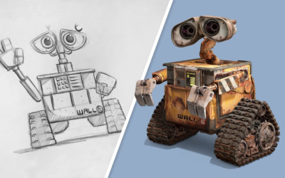 Learn to Draw WALL-E from a Pixar Animator