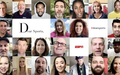ESPN Launches New Platform #DearSports for Athletes and Fans to Share Stories, Love Letters to Sports