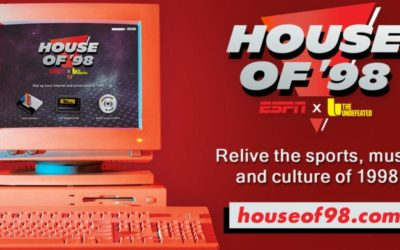 """ESPN and The Undefeated Present Limited Time """"House of '98"""" Virtual Experience"""