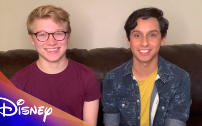 "HSMTMTS Stars Frankie Rodriguez and Joe Serafini Read an Emotional ""Inside Out"" Story"