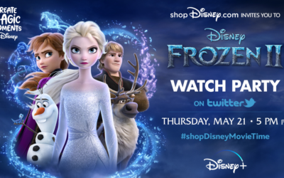 "shopDisney To Host a ""Frozen 2"" Watch Party on May 21st at 5:00 pm PT"