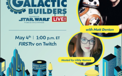 "Registration Open for ""Galactic Builders Live"" with BB-8 Co-Creator Matt Denton for Star Wars Day"