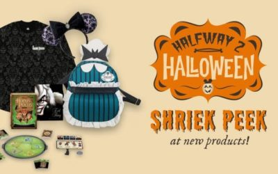 Disney Celebrates #Halfway2Halloween With First Look at Haunted Mansion Themed Merchandise and More