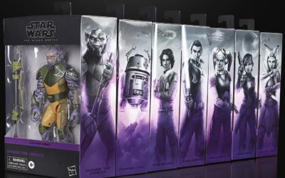 "Hasbro Reveals New Packaging, ""Star Wars Rebels"" Figures for The Black Series Action Figure Line"