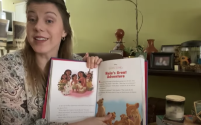 Jodie Sweetin Reads a Story About Nala on Disney's YouTube Channel