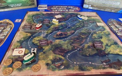 Board Game Review: Jungle Cruise: Adventure Game