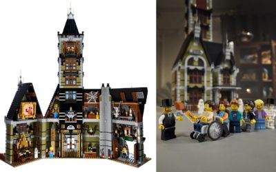 LEGO Haunted House Adds Another Amusement Park Classic to its Fairground Collection