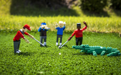 LEGOLAND Florida Celebrates Upcoming Golf Charity With Mini Scenes of Celebrity Players