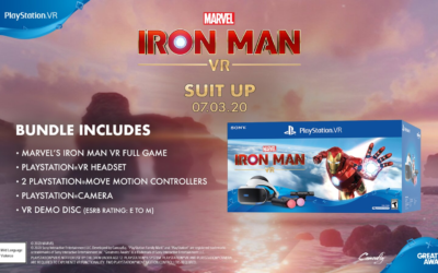 Sony Announces Marvel Iron Man VR PlayStation bundle and demo download