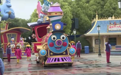 Shanghai Disneyland Previews Social Distancing Operation Changes Ahead of Park Reopening