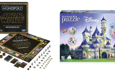 Disney-Themed Puzzles and Monopoly Games Arrive on shopDisney