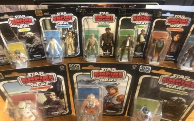 "Unboxing / Review: Hasbro's ""The Empire Strikes Back"" 40th Anniversary Black Series Star Wars Figures"