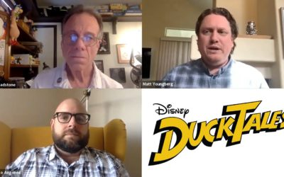 "Video: ""DuckTales"" Showrunners Participate in Q&A Session for International Animated Film Association"