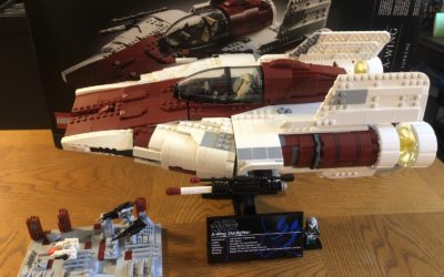 Video Review: LEGO Star Wars Ultimate Collector Series A-Wing Starfighter and Death Star II Battle