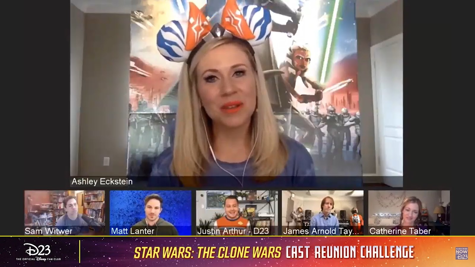 "What We Learned During D23's ""Star Wars: The Clone Wars"" Cast Reunion Challenge"
