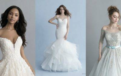 Allure Bridals Launches Disney Fairy Tale Weddings Collections Featuring 16 Stunning Princess-Inspired Gowns