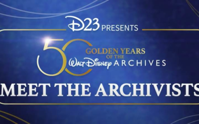 "D23 Celebrates 50 Years of the Walt Disney Archives with ""Meet the Archivists"" Video"