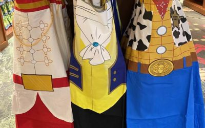 Disney World Launches New Kitchen Line of Aprons and Pot Holders