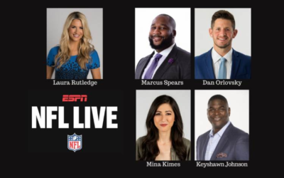 """ESPN Relaunching """"NFL Live"""" This August With Laura Rutledge as Host"""