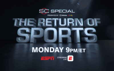 "ESPN ""SportsCenter Special: The Return of Sports"" Airs Monday, June 15th"