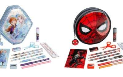Get Creative With New Character-Themed Zip-Up Stationery Kits for Kids