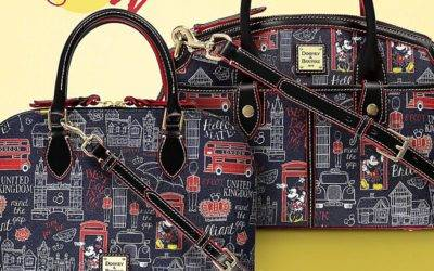Travel to EPCOT's United Kingdom Pavilion with Dooney & Bourke Hello Mate Collection