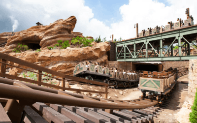 Learn Fun Facts on a Virtual Ride Through of Big Grizzly Mountain at Hong Kong Disneyland