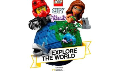 "LEGO and National Geographic Team for ""Explore the World"" Campaign"