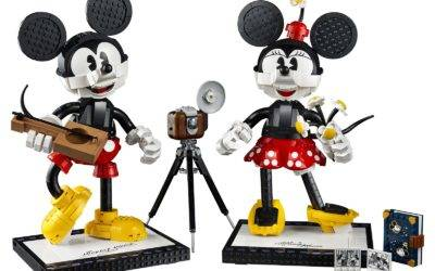 LEGO Reveals Buildable Mickey Mouse & Minnie Mouse Set Coming This Summer
