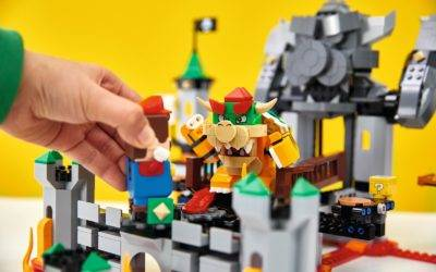 "LEGO Reveals Full Lineup of ""Super Mario"" Interactive Building Sets, Expansions, and Characters"