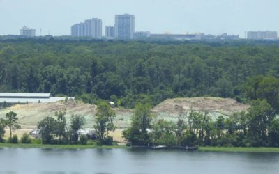Photo Construction Update: Reflections - A Disney Lakeside Lodge